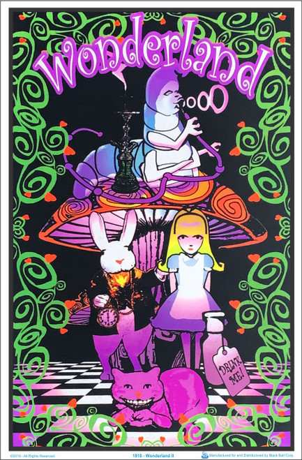 Wonderland II Blacklight Poster Image