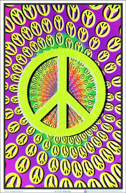 Peace Op Blacklight Poster Image