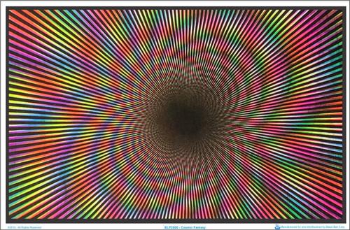 Cosmic Fantasy Blacklight Poster Image