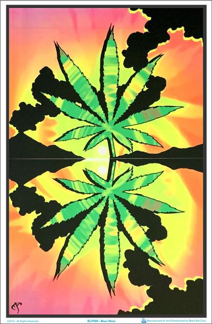 Maui Waui Blacklight Poster Image
