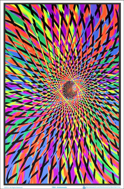 Andromeda Blacklight Poster 23 x 35 Image