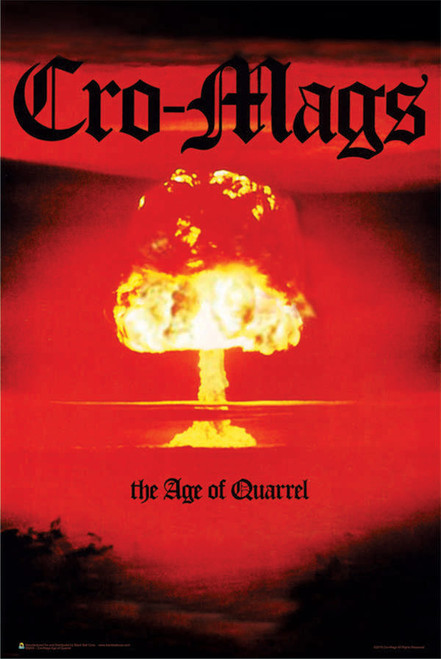 "Cro-Mags Age of Quarrel Poster 24"" x 36"" Image"