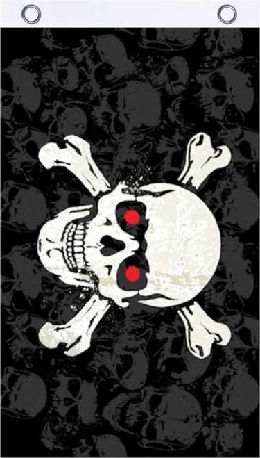 Skull & Crossbones Fly Flag 3' x 5' Image