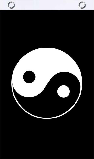 Yin Yang Fly Flag FLY FLAG 3' x 5' Image