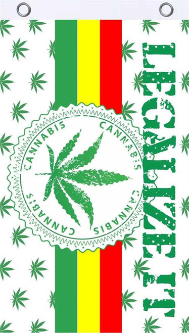Legalize It Fly Flag 3' x 5' Image