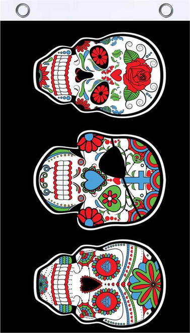 Sugar Skull Fly Flag Image