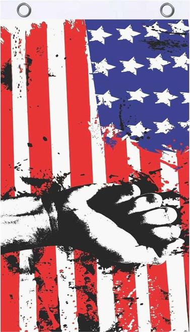 USA Grunge Fly Flag 3' x 5' Image
