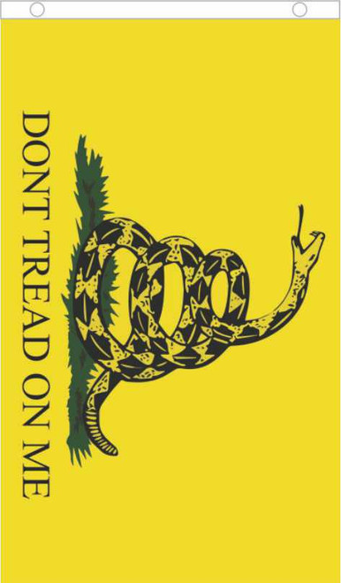 Don't Tread on Me Fly Flag 3' x 5' Image