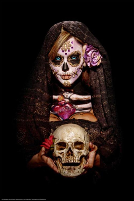 Fortune Teller Poster by: Daveed Benito 24-by-36 Inches Image
