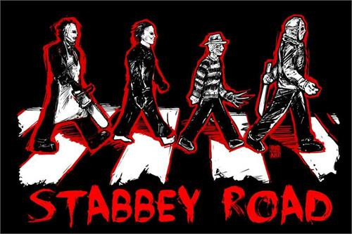 Stabbey Road Poster by: Big Chris 36-by-24 Inches Image