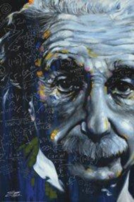 Einstein It's All Relative Poster by: Stephen Fishwick 24-by-36 Inches Image
