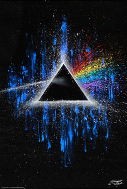 Dark Side Poster by: Stephen Fishwick 24-by-36 Inches Image