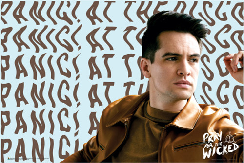 Panic! At The Disco Pray for the Wicked Poster 36-by-24 Inches Image