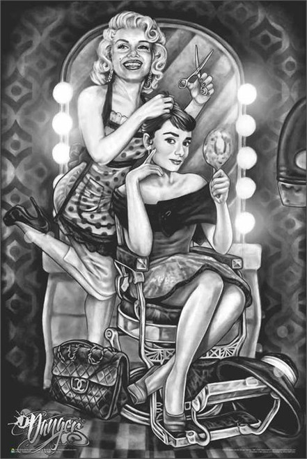 Marilyn & Audrey Barber Shop by: James Danger Harvey Image