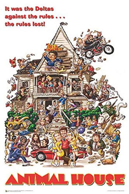 "Animal House Movie Poster - 24"" x 36"" Image"