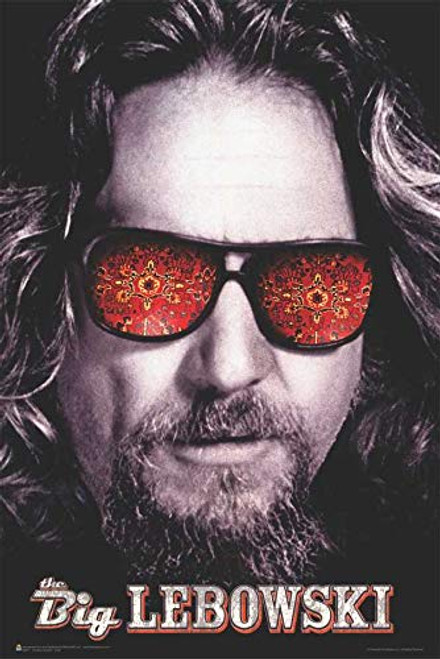 """The Big Lebowski The Dude Movie Poster - 24"""" x 36"""" Image"""