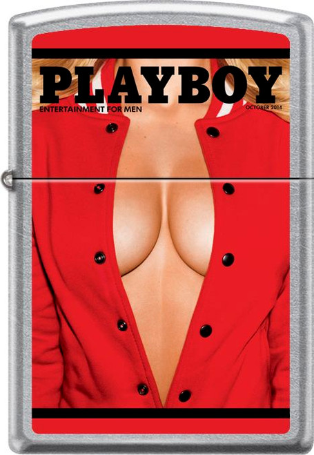 Playboy - Chest Street Chrome Zippo Lighter