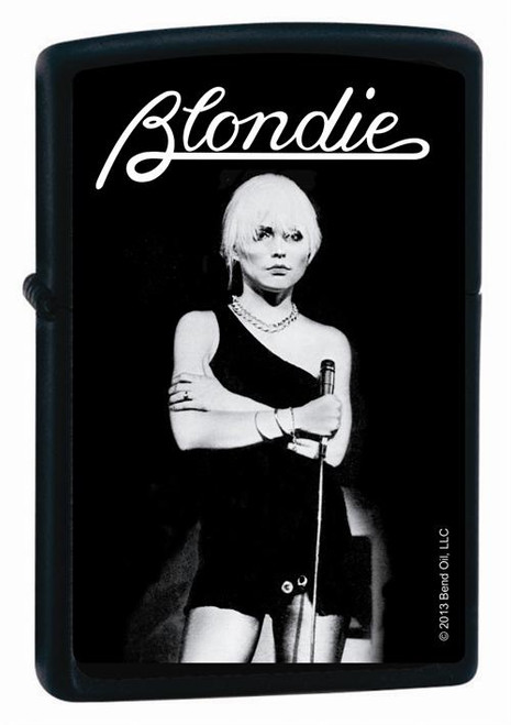 Blondie Black & White Zippo Lighter