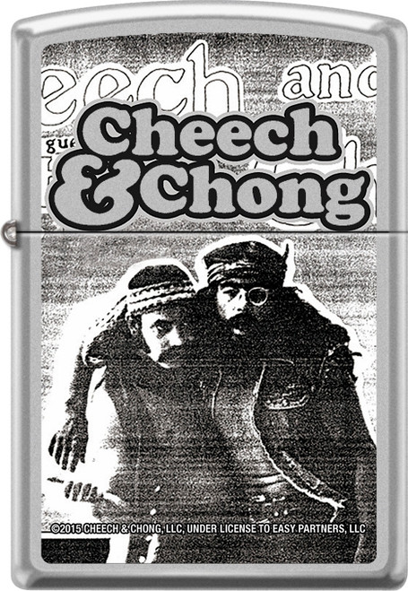 Cheech & Chong - Party - Chrome Zippo Lighter
