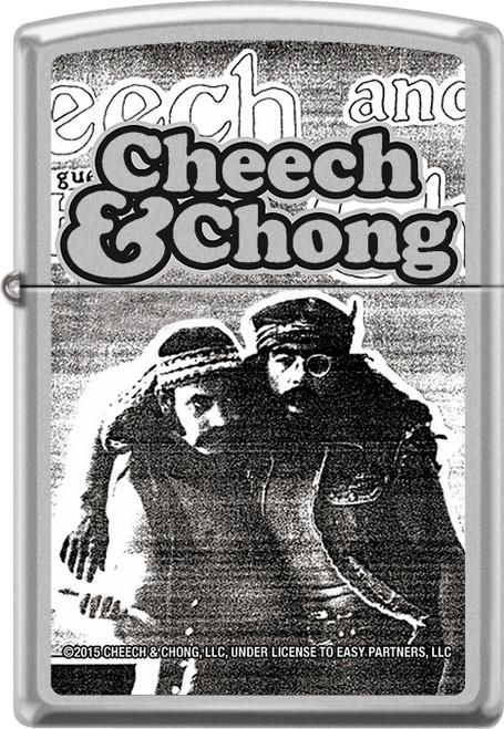 Cheech & Chong - Party - Chrome Zippo Lighter
