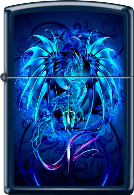 Seablade Ruth Thompson - Blue Matte Zippo Lighter