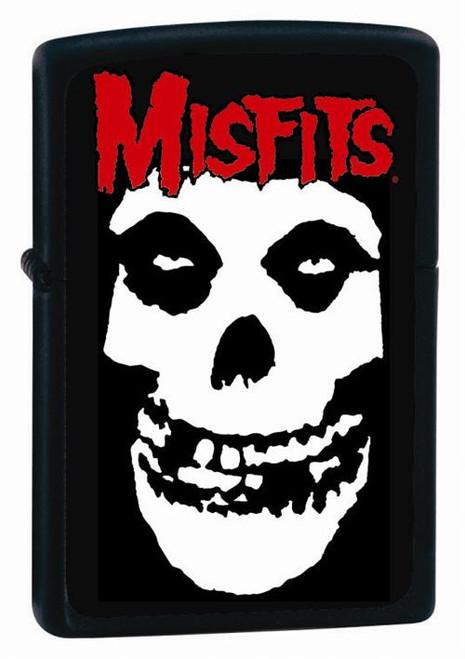 Misfits Skull Black Zippo Lighter