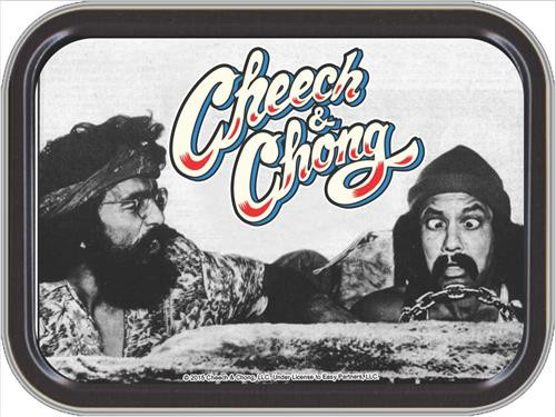 Cheech & Chong Automobile Stash Tin Storage Container Image