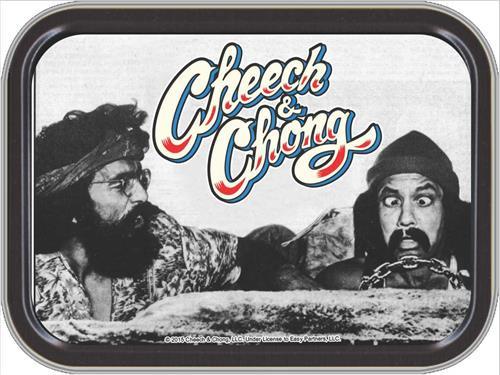 Cheech & Chong Automobile Stash Tin Storage Container Image