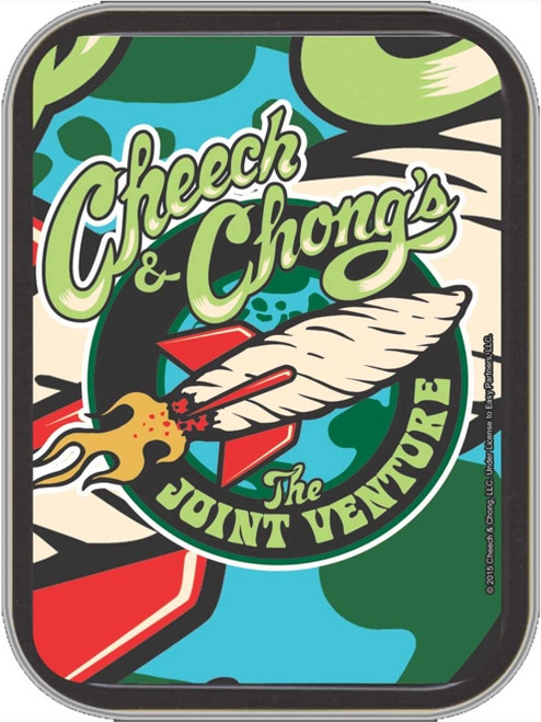 Cheech & Chong Joint Venture Stash Tin Storage Container Image