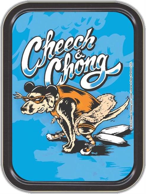 Cheech & Chong Labrador Stash Tin Storage Container Image