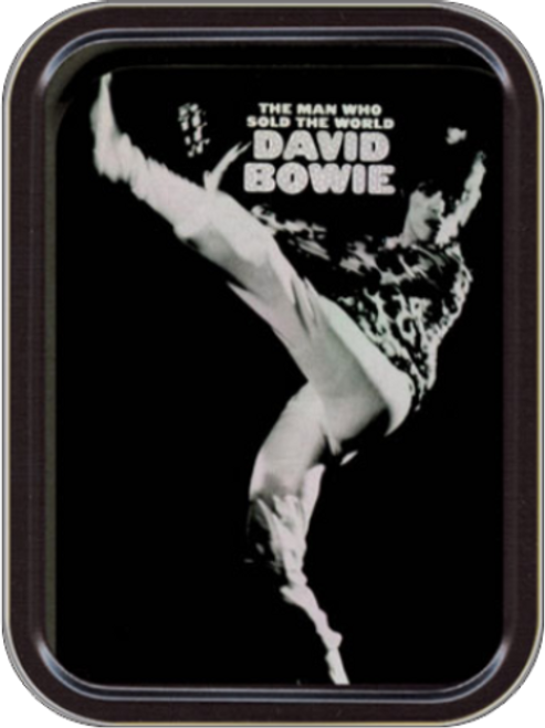 David Bowie - Sold the World Stash Tin Storage Container Image
