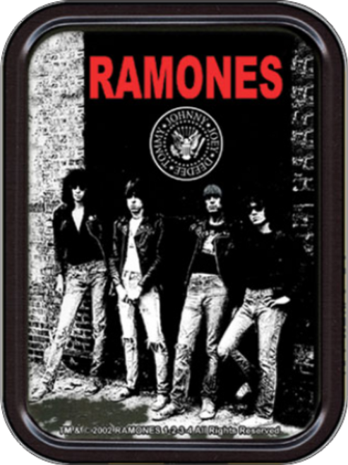 Ramones Rocket to Russia Stash Tin Storage Container Image