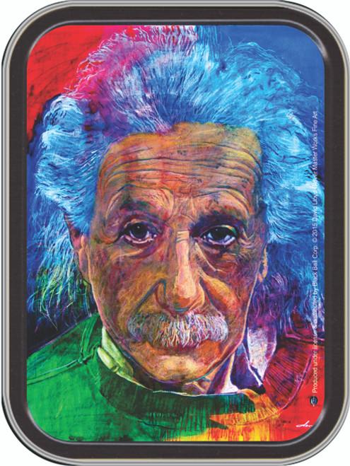 Albert Einstein  Stash Tin Storage Container Image