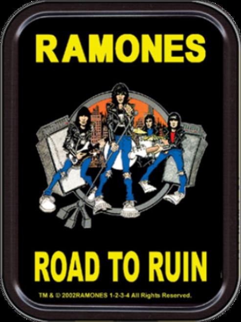 Ramones Road to Ruin Stash Tin Storage Container Image