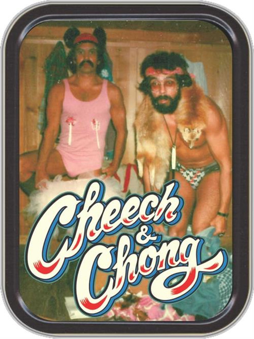 Cheech & Chong Ballerina Stash Tin Storage Container Image
