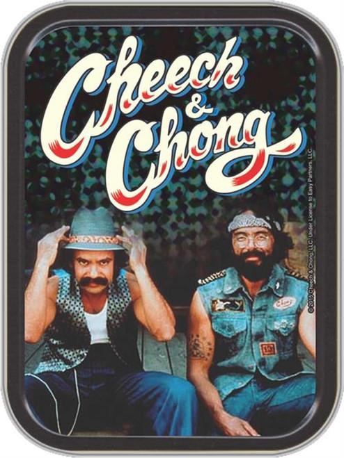 Cheech & Chong the Guys Stash Tin Storage Container Image