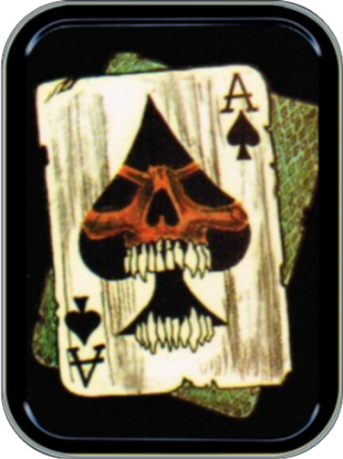 Ace of Spades Stash Tin Storage Container Image