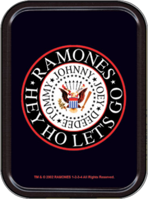Ramones - Hey Ho Stash Tin Storage Container Image