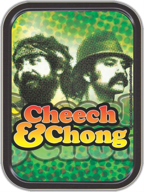 Cheech & Chong Reflection Stash Tin Storage Container Image