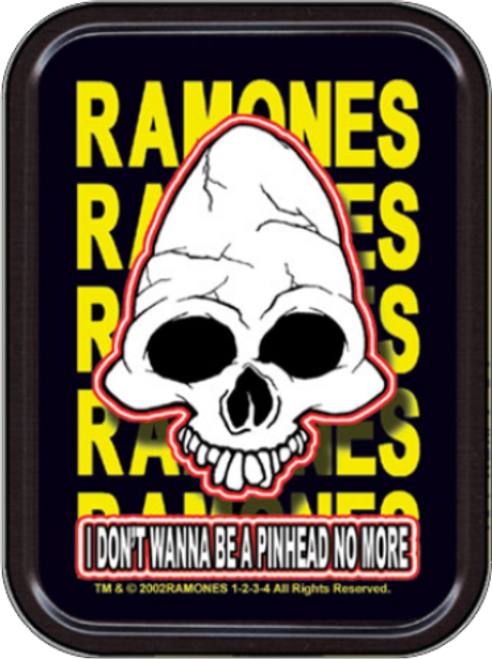 Ramones Pinhead Stash Tin Storage Container Image