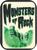 "Monsters Of Rock  - Mini Sticker - 2"" X 2 3/4"""