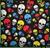"""Bandana - Skulls - 21"""" x 21"""" - Cotton"""