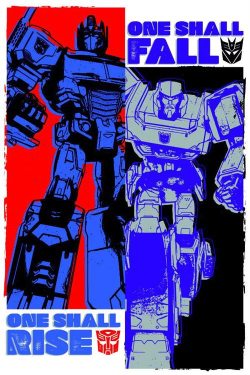 Aquarius Transformers Cast Poster 24-Inch by 36-Inch