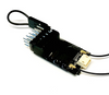 Receiver Micro 6Ch DSMX/DSM2 CRACK PRO 2.4Ghz Spectrum/JR w/ Satellite port & Diversity Antenna