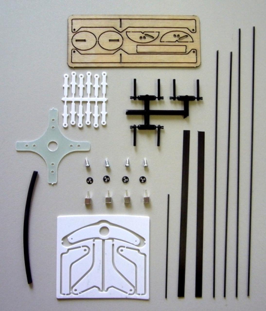 RcFactory Parts - 30-34 Super Lite Yak,SU-29,Inferno Hardware bag