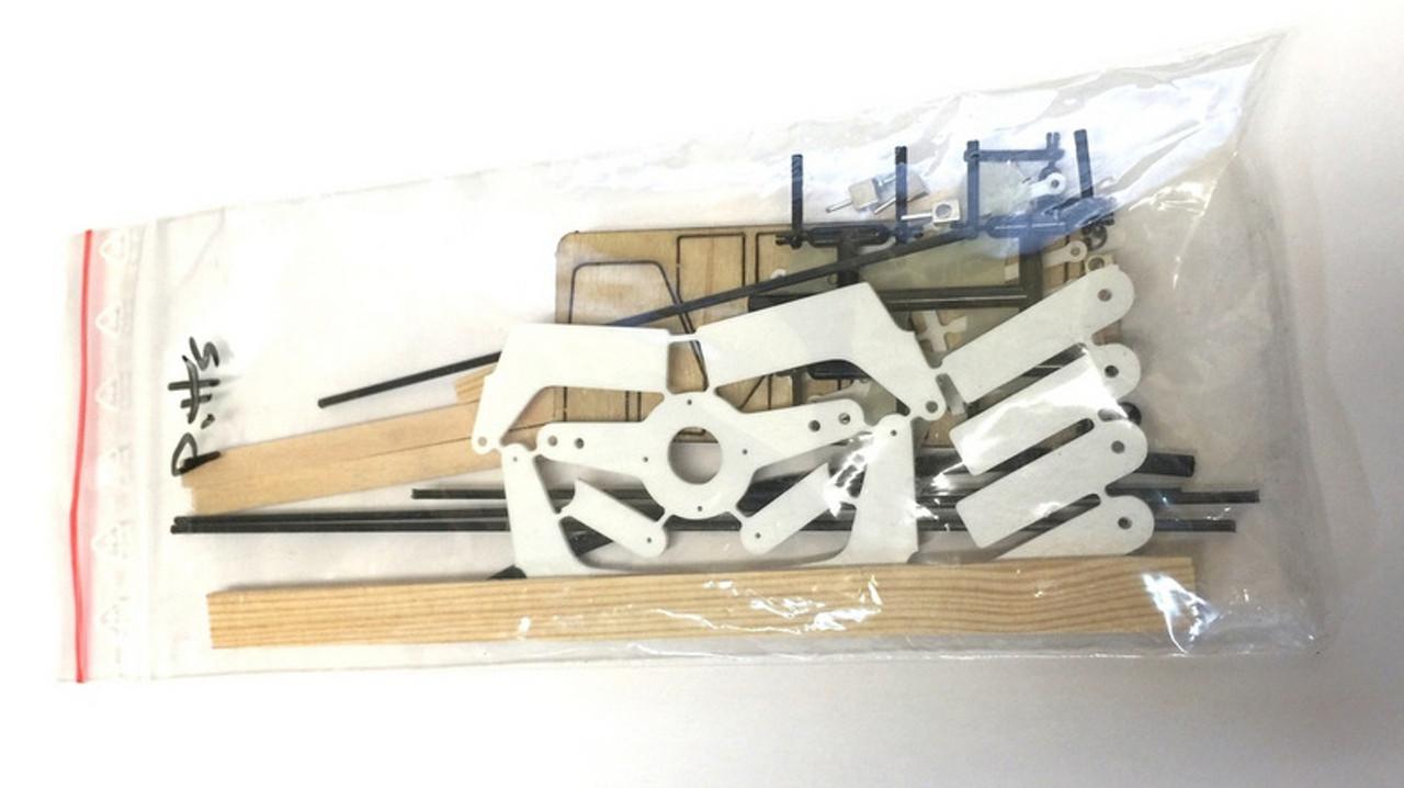 "RcFactory Parts - 30"" Pitts Biplane Hardware Bag"