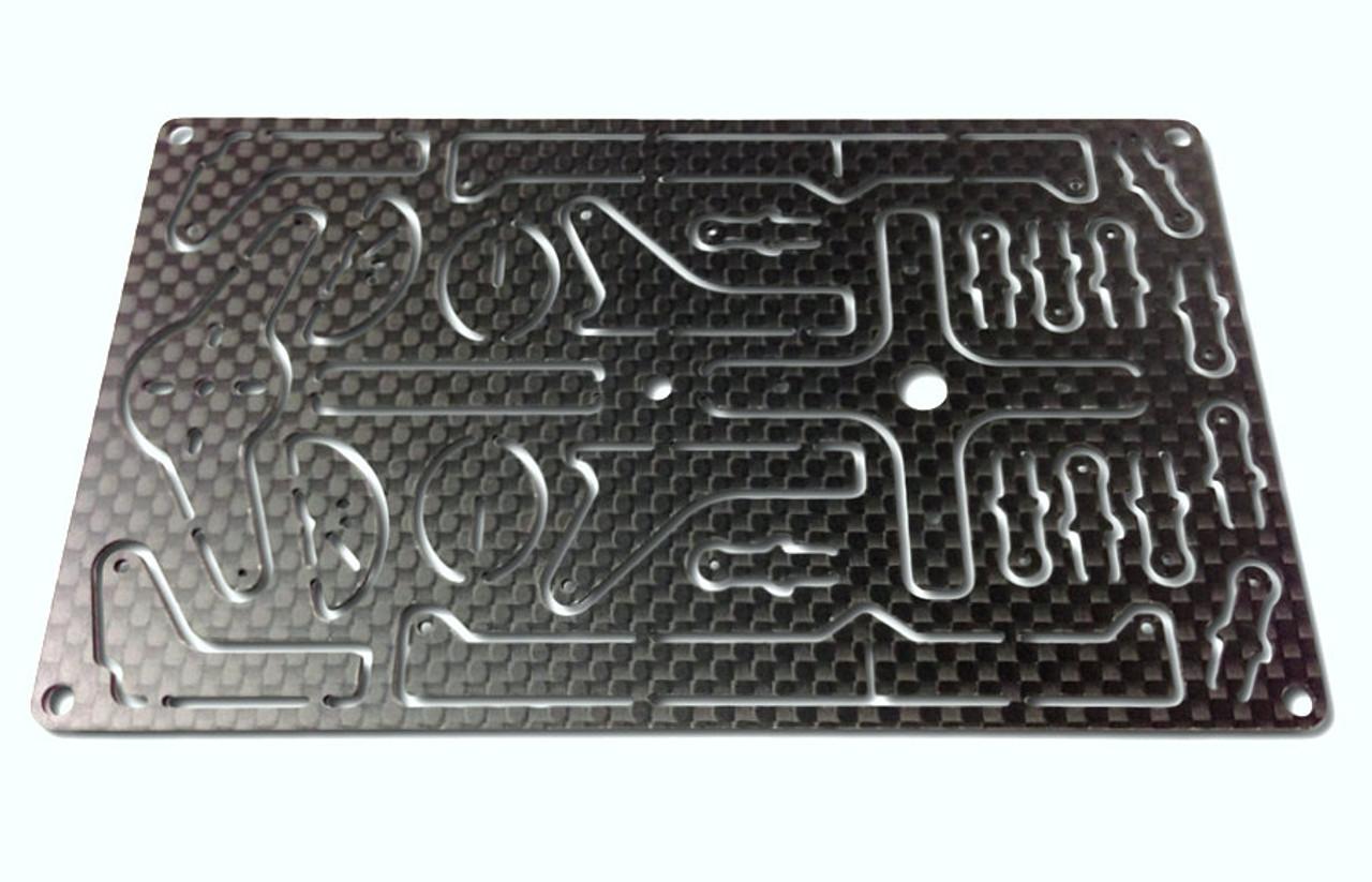 """Carbon Fiber RcF """"Super Lite""""  Upgrade Kit"""