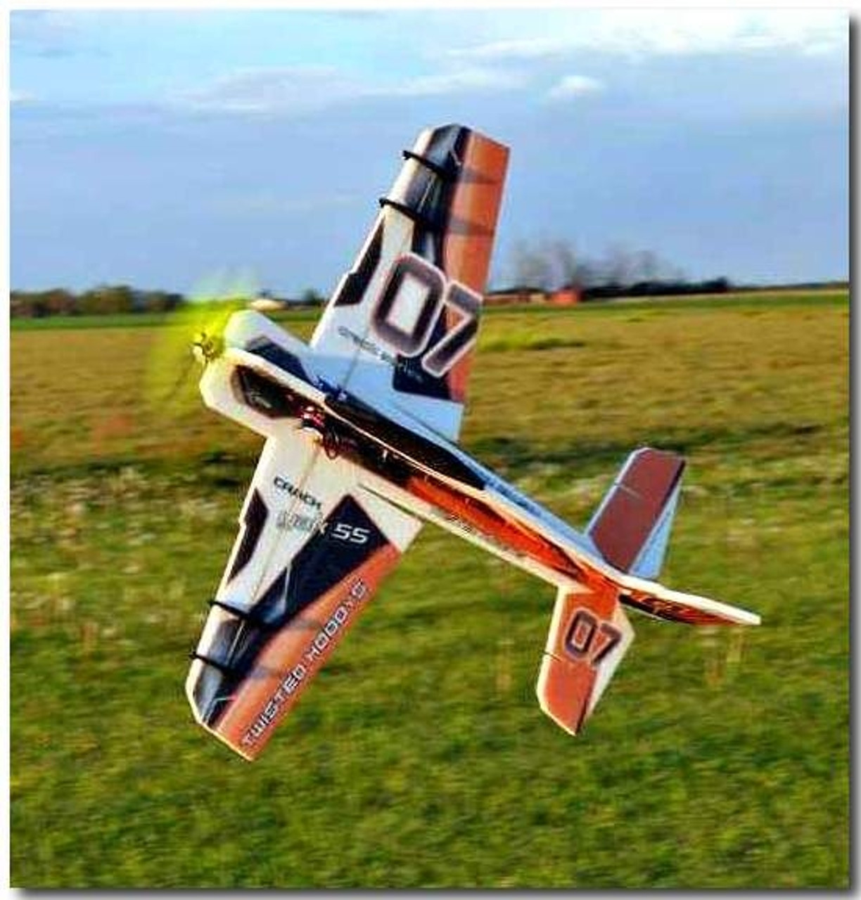 "TH 32"" EPP Crack Yak-55 Gold w/ HD Landing Gear"
