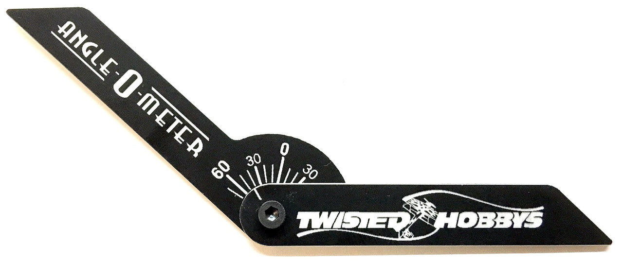 Twisted Hobbys Control Throw Angle-Meter Tool