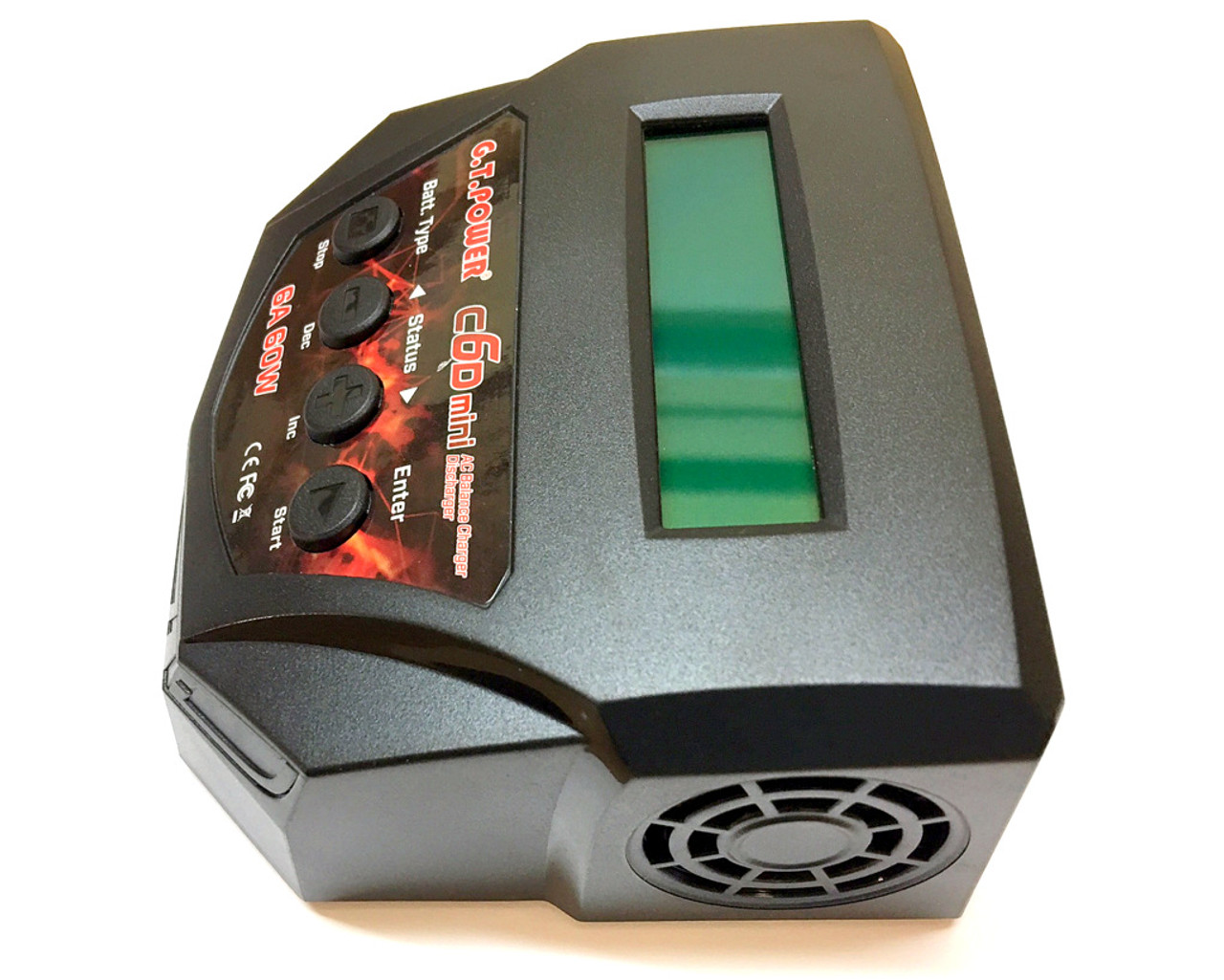 Lipo G.T. Power C6D MINI Charger 2s-4s 6A / 60W
